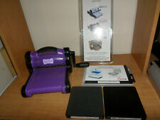 Sizzix Big Shot Die Cutting Embossing Machine Purple + Accessories - Fast Ship