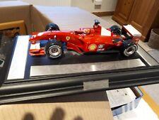 1:18 MATTEL MODEL FERRARI 2001 F1 Michael Schumacher comemorative Modello Leggende