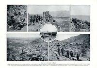 Revolution in Mexiko XL Seite von 1911 mit 6 Fotoabbildungen