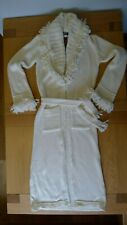 New Morgan de Toi creamy long knitted cardigan size S