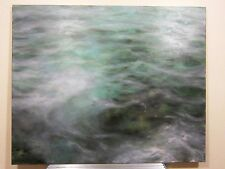 "Martine Emdur  2006 Original Painting Oil on Canvas 66"" x 54"" Seascape Ocean"