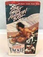 WCW Great American Bash 1996 Kevin Greene Luger Randy Savage Ric Flair Sting VHS