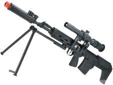 CYMA Standard SVU Airsoft Bullpup Sniper Rifle AEG with Integrated Bipod