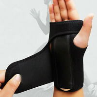 Wrist Support Hand Brace Band Carpal Tunnel Splint Arthritis Sprains Prot SALE