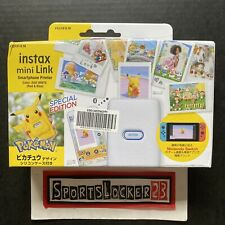 FUJIFILM instax Mini Link Smartphone Printer POKEMON Edition Pikachu Case  USA