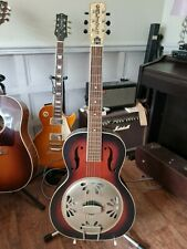 More details for gretsch g9240 alligator single cone resonator guitar and case