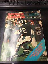 1969 Sports Canada Football Magazine L9576