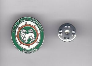 CS Maritimo ( Portugal ) - lapel badge butterfly fitting