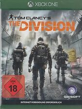 Tom Clancy 's the Division-Microsoft XBOX ONE-NUOVO & OVP-versione tedesca