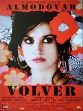 VOLVER Affiche Originale ROULEE 53x40 Movie Poster Pedro Almodovar
