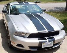 """1983-2012 Mustang Racing Stripe Kit 9"""" Twin Stripe - GT/V6/Cobra/Saleen/Bullitt"""