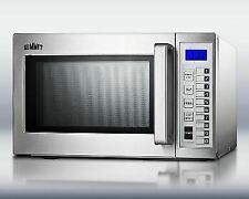 Commercially Approved Microwave - Stainless Steel Exterior & Interior