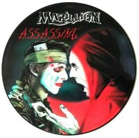 "NEAR MINT! MARILLION ASSASSING 12"" VINYL PIC PICTURE DISC"