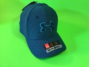 New UNDER ARMOUR UA Classic Fit Youth Boys Snapback Hat Sz S/M Turquoise