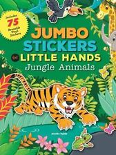 Jumbo Stickers for Little Hands: Jungle Animals by Jomike Tejido 2016, Paperback