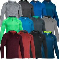 Under Armour 2017 UA Tech Popover Henley Training Shirt Hoody Mens Sports Hoodie