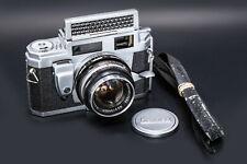 (29) KONICA IIIM c1959 w/50/1.8, strap, cap, beautiful & serviced