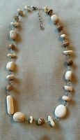 SILPADA White Howlite, African Opal, Sterling Silver Necklace #N1692