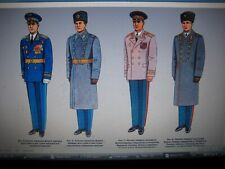 = USSR Ministry of Defence UNIFORM REGULATIONS 1988 =