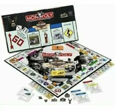 """NEW- HARLEY-DAVIDSON MOTORCYCLES """"LIVE TO RIDE EDITION"""" MONOPOLY BRAND NEW"""