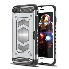 For iPhone 6 6S 7 8 XR XS Max Case Shockproof 360 Armour Magnetic Hard Cover
