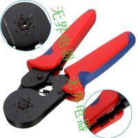 Self Adjusting Ratcheting Ferrule Crimper Plier HSC8 6-6A 0.08-6mm² AWG24-10 New