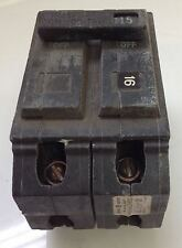 GENERAL ELECTRIC 2 POLE 15AMP TYPE THQL