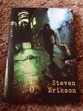 Revolvo Steven Erikson 1st ed 300 Copy Signed/Limited Hc fine Uk Import Oop