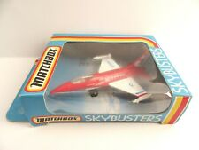 Matchbox Skybusters SB-24 F.16 Fighter Jet - USAF - Mint/Boxed