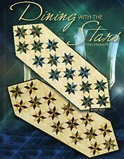 Dining with the Stars by Judy Niemeyer Table Runner Foundation  Quilt Pattern