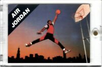 Nike Air Jordan Promo Card Michael Jordan ROOKIE RC 1989 GEM MINT Jumpman Banned