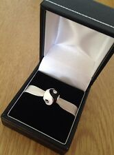 Original Pandora Yin Yang Zirkon Edelstein Spirituell Hindu Geschenk Armband Charm NEU! ☯