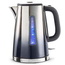 Russell Hobbs Polished Eclipse Ombre Electric Jug Kettle 1.7L Fast Midnight Blue