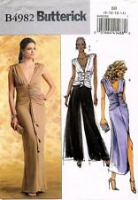 Butterick Misses' Top,Dress and Pants  Pattern B4982  Size 8-14 UNCUT