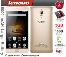 """LENOVO Vibe p1 c58 5.5"""" Smartphone Android 6 OCTA CORE DUAL SIM 3gb RAM Sbloccato"""