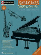 Early Jazz Standards Jazz Play Along Book and Cd New 000843017