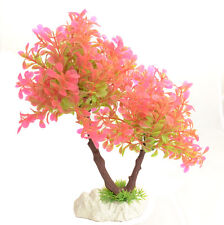 1 x décoration aquarium artificiel plante fleurs aquariumsdeko ARBRE