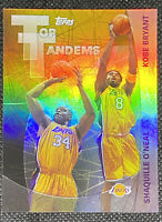 Kobe Bryant Shaquille O'Neal 2002-2003 Topps Top Tandem Los Angeles Lakers