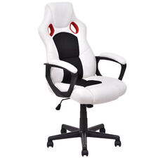 Executive Adjustable High Back Swivel Gaming Chair PU Leather Computer Desk Task