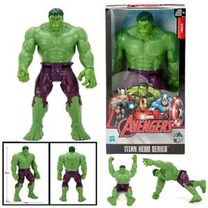 Marvel Avengers THE HULK 12 Inch Action Figure Titan Hero Series Kids Toy Gifts~