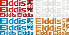 Elddis Self Adhesive Vinyl Caravan Motor Home Sticker X6