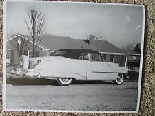 Hank Williams Sr. Cadillac Parked in Front Of His House 20 x30 Huge Photograph