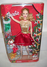 #7513 NRFB Target Home For The Holidays Barbie (BAD BOX)