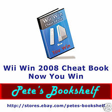 Cheat Book for Wii - 2008 - CD