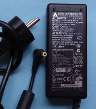 Fuente de alimentación original Acer aspre adp-65db 19v 3.42a 65w pa-1650-02 de repuesto cable de carga