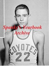 1960's Los Angeles Lakers Chicago Bulls Coach Phil Jackson High School Yearbook