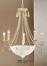4028 I-Chandelier, Cream/Ivory, Made In Italy,