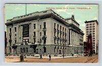 Youngstown OH, Mahoning County Courthouse, Ohio Vintage Postcard Z14
