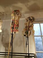Antique Vintage Wayang Kulit Shadow Puppets Java Hand Made You Choose Which One!