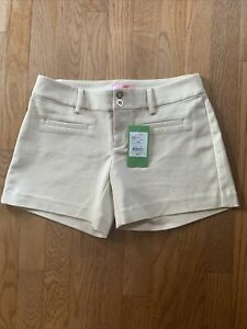 Lilly Pulitzer Women's Shorts Tan/Sandstone Size 00